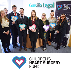 consilia legal partner with the childrens heart surgery fund