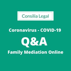 Online Family Mediation Coronavirus