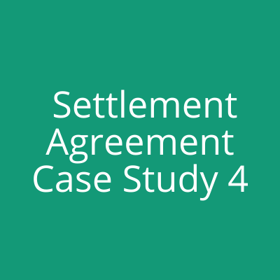 redundancy settlement agreement